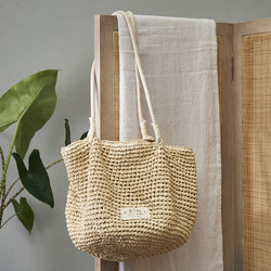 Beach Vibes Crochet Bag natural