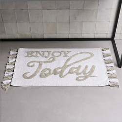 Bath Mat Enjoy Today