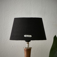 Chic Lampshade black gold 15x20