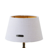 Chic Lampshade white gold 15x20