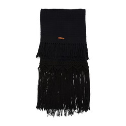 Treasure Macra Throw black 170x130