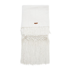 Treasure Macra Throw white 170x130