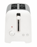 2 Slice Lite Toaster White