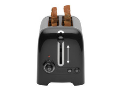 2 Slice Lite Toaster Black