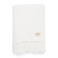 Ocean Breeze Throw white 170x130