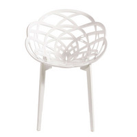 Dining Chair Flora White