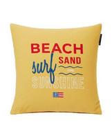 Sunshine Cotton Pillow Cover, Yellow