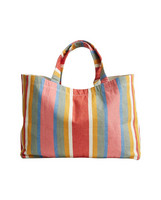 Hollyoak Shopper Multi Stripe