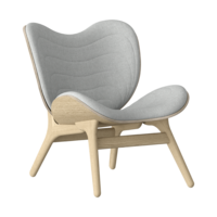 Conversation Piece Armchair Oak - Silver grey