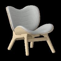 Conversation Piece Armchair Oak - Silver grey