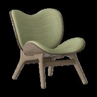 Conversation Piece Armchair Dark oak - Spring green