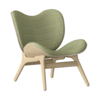 Conversation Piece Armchair Oak - Spring green