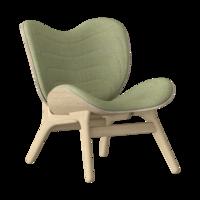 Conversation Piece Armchair Oak - Spring green