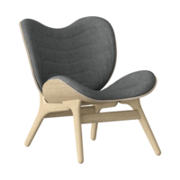 Conversation Piece Armchair Oak - Slate grey