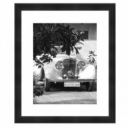 Wall art White Oldtimer 60x50