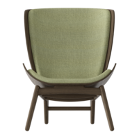 The Reader Dark oak Spring green
