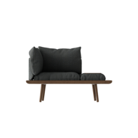 Lounge Around 1.5 seater Dark oak
