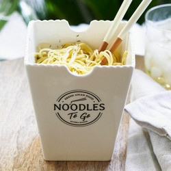 Fresh Asian Food Noodles To Go Bowl