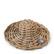 Rustic Rattan Summer Deco Hat