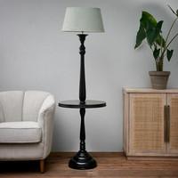 Clareridge Floor Lamp black