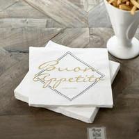 Paper Napkin Buon Appetito