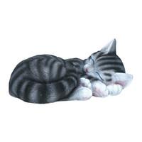 Stripy cat Grey