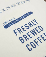 Printed Cotton Twill Coffee Kitchen Towel