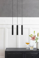 Chimes Cluster 3 Black