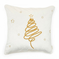 Merry Christmas Swirl Pillow Cover 50x50