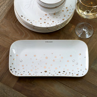 Starry Night Rectangular Plate
