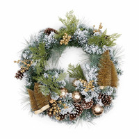 Wonderful Christmas Wreath 70 cm
