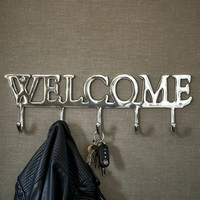Welcome Coat Hanger