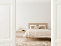 Tuuli Bedspread 260x260 Nougat
