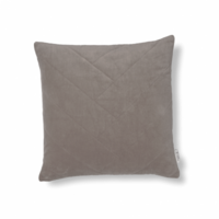 Chevron cushion cover simply taupe 50 x 50 cm
