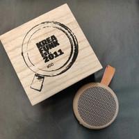 aGO Ultra Portable Mini Speaker Ivory Sand