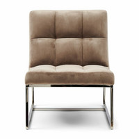 Thompson Place Chair Vel III GlMink