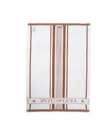 Striped Cotton Terry Logo Kitchen Towel