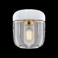 Acorn white Polished Brass