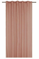 Rimy curtain set rose 2x140x300