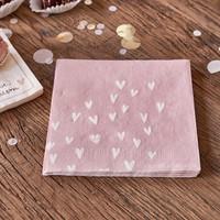 Paper Napkin Happy Heart