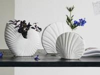 KAPITI flower vase, L, white