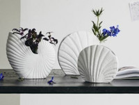 KAPITI flower vase, S, white