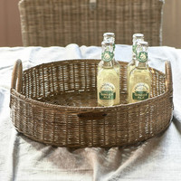 Rustic Rattan RM 48 Round Tray