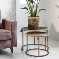 Flores Coffee Table S/2