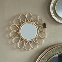 Flower Decoration Mirror