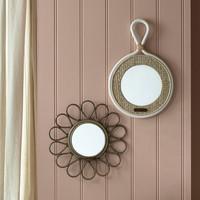 Flower Decoration Mirror