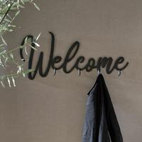 Welcome Coatrack black
