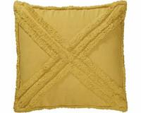 Sarah cushion cover ocra 45 x 45 cm