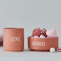 Porcelain Snack Bowl GOODIES Nude