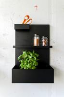 Everyday Design BOX -wall organizer black